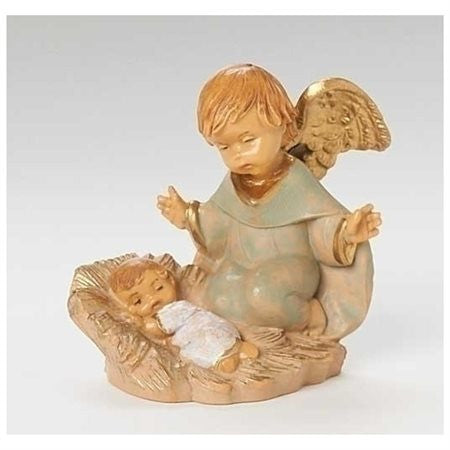 "5"" Talitha Angel with Baby Nativity Figure"