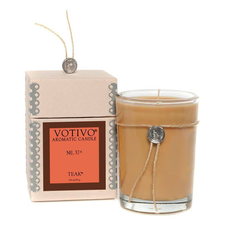 Aromatic Candle Teak