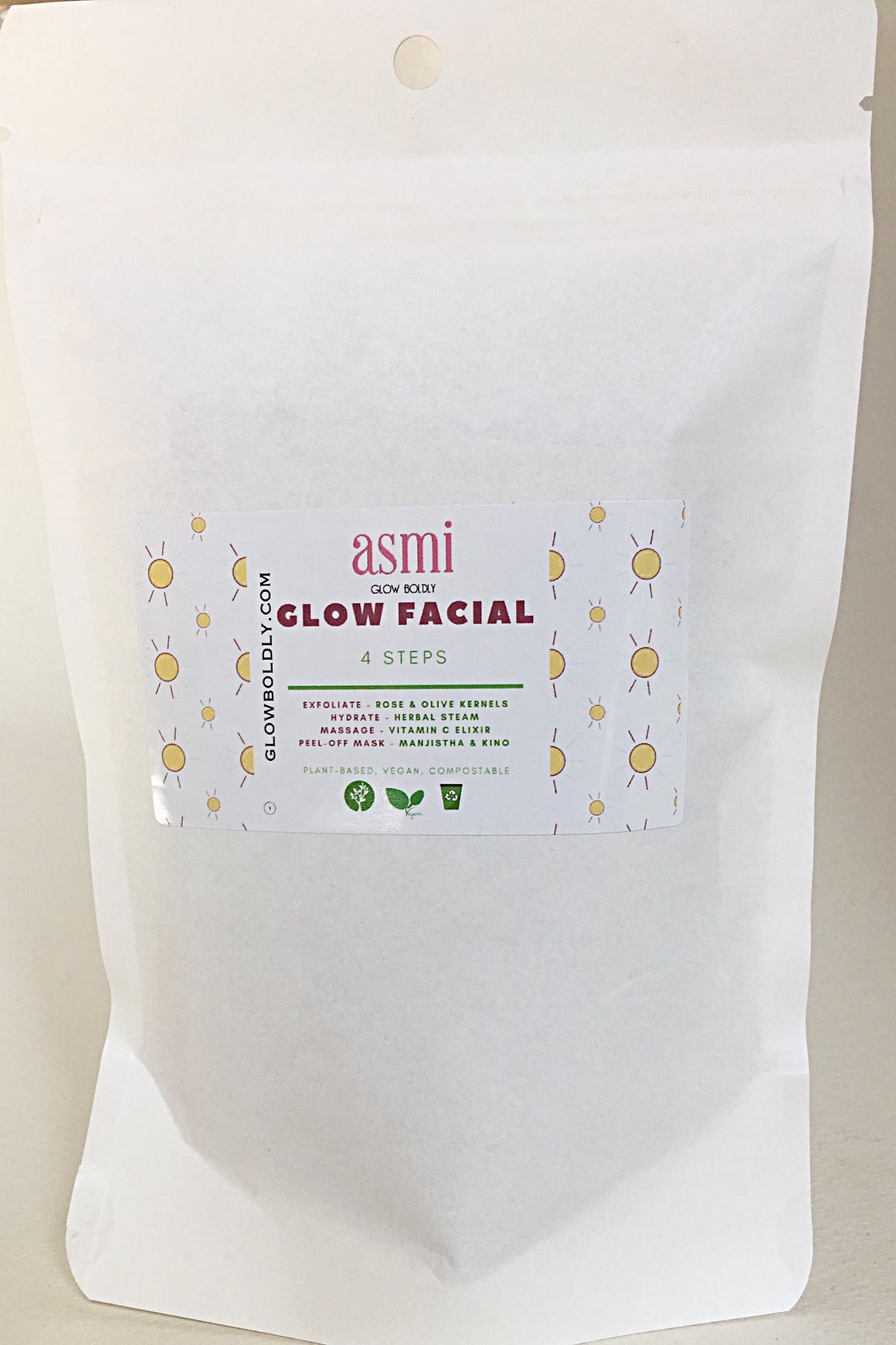 Glow Facial - Single Use Kit