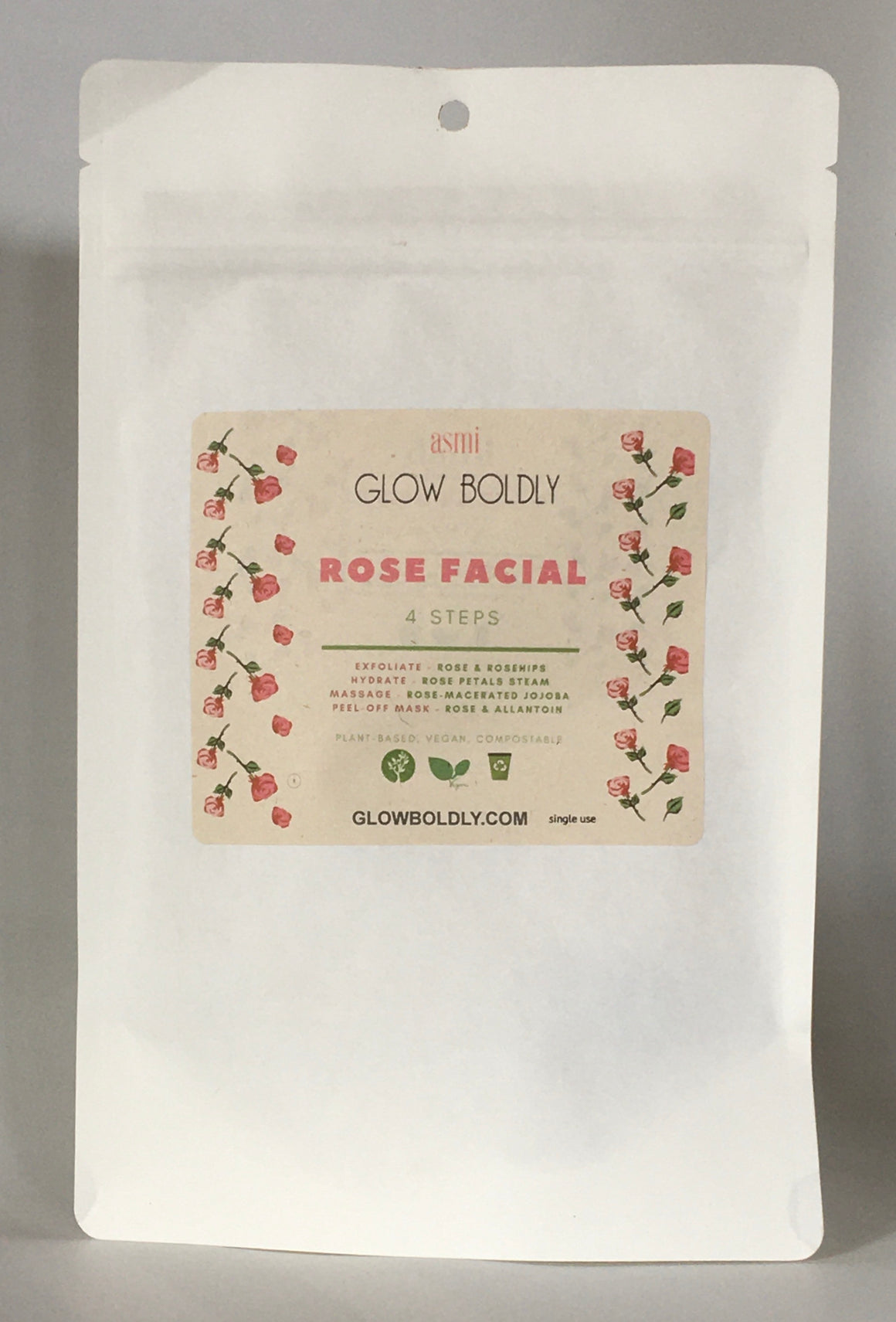 Rose Facial - Single Use Kit
