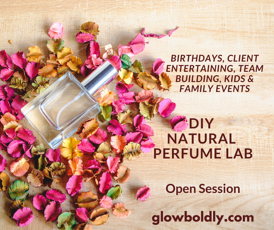 DIY Natural Perfume Lab Open Session with Recipes NEW