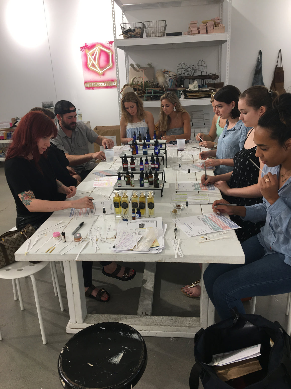 Group DIY Perfume Workshop