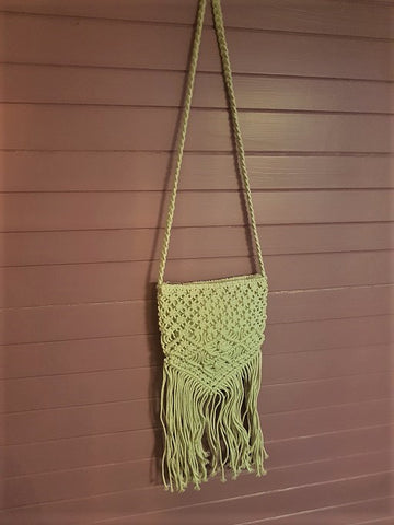 Need A Break Macrame Bag