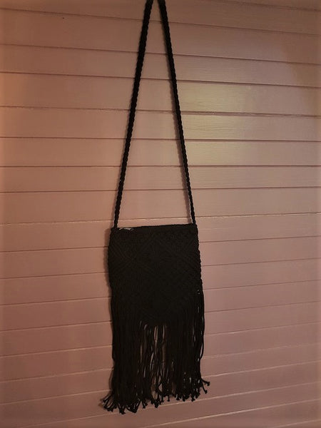 Time Out Macrame Bag