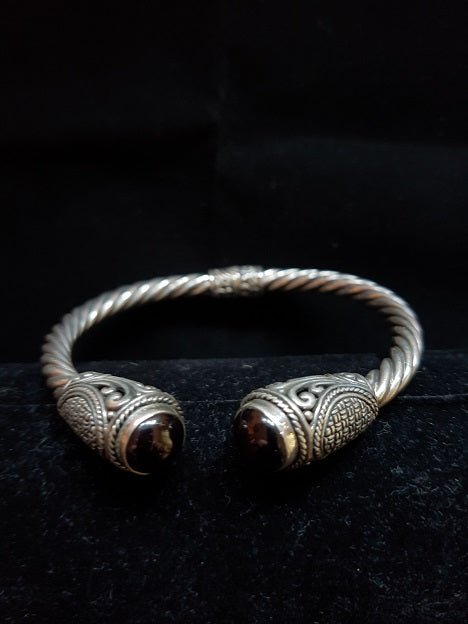 Black Eye Cuff Bangle