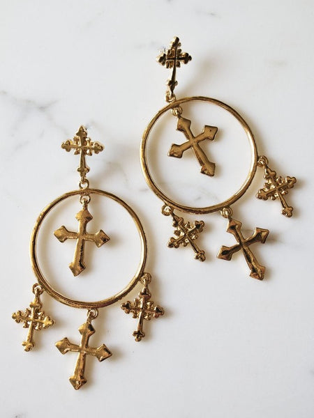 Crossfire Earrings
