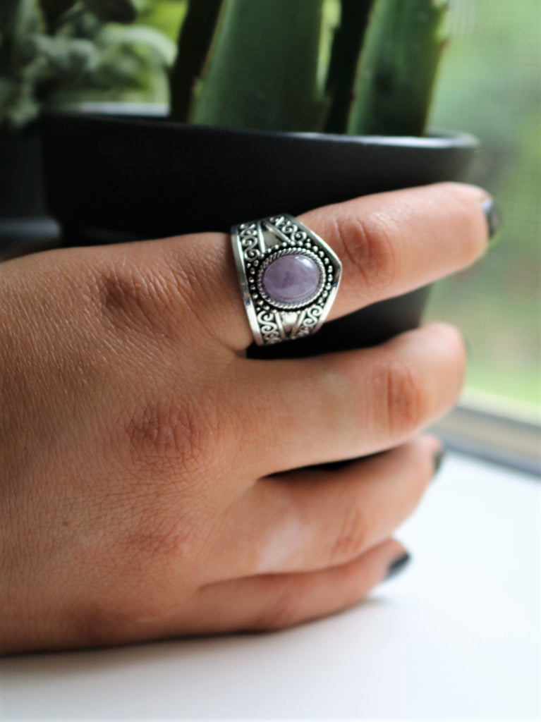 Gypsy Gem Silver Ring