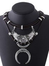 Sahara Silver Necklace