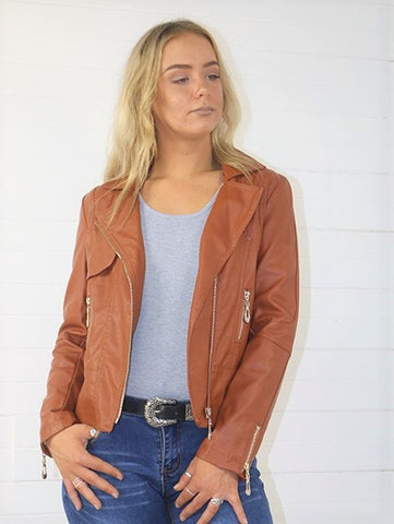 Jazzy Leather Jacket