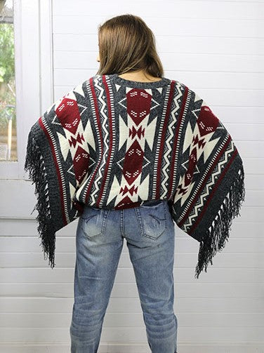 Mexican Girl Poncho