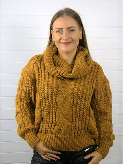 Winter Gold Jumper
