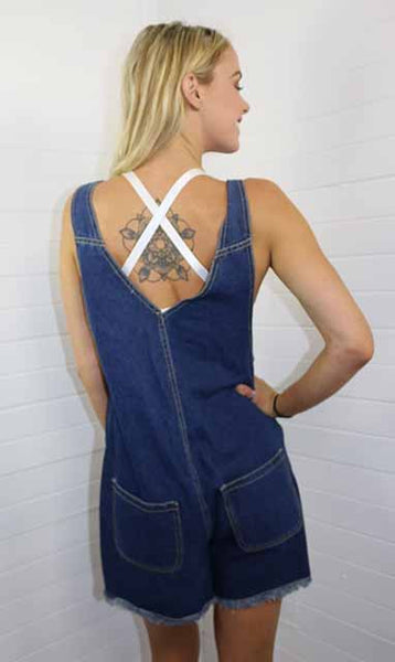 Sammy Denim Overalls