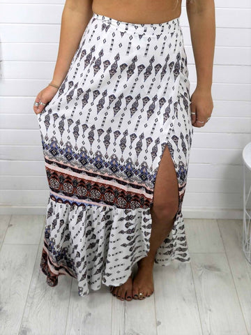 Eva Wrap Skirt