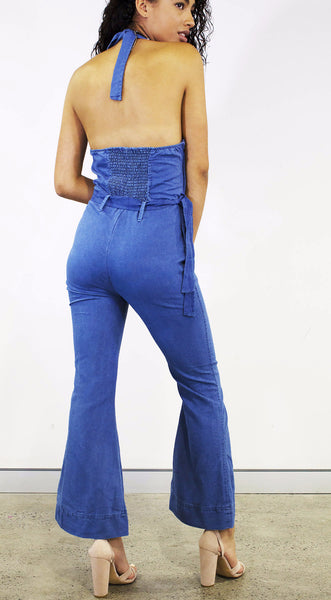 Delta Denim Jumpsuit