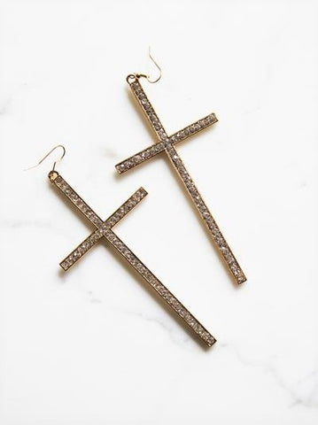 Syana Cross Earrings