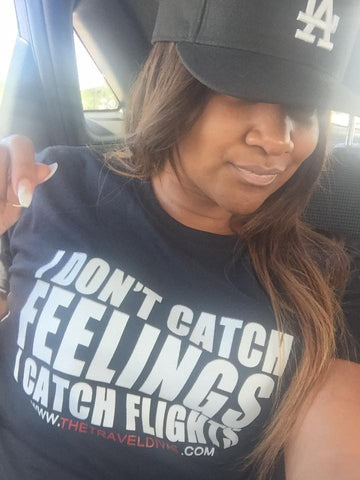 Only Catching Flights T-shirt