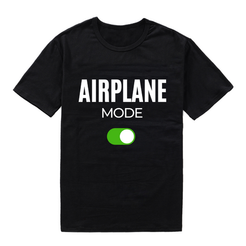 Airplane Mode On T-shirt