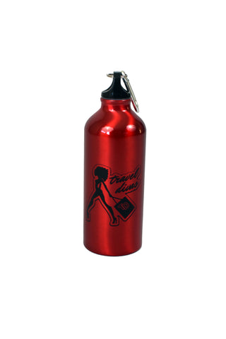 Travel Divas 20 oz. Aluminum Water Bottle