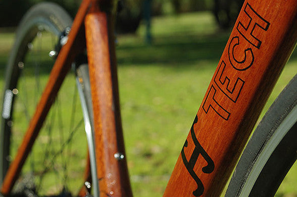 HTech: handcrafted wooden bikes