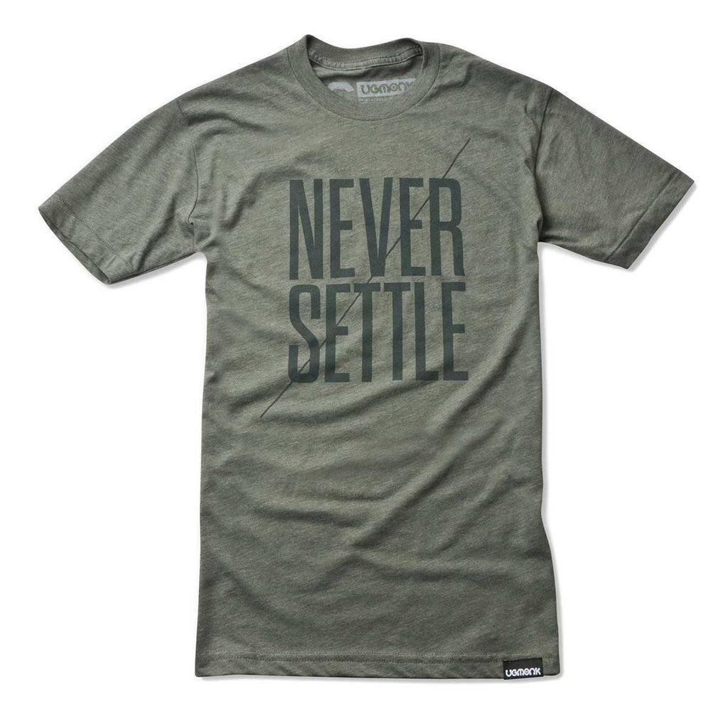 ugmonk mens army green graphic tee