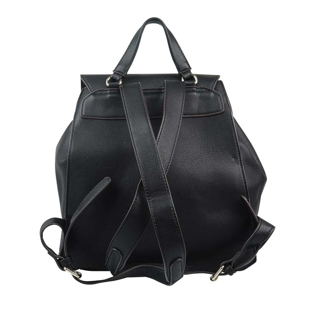 pratten womens black backpack