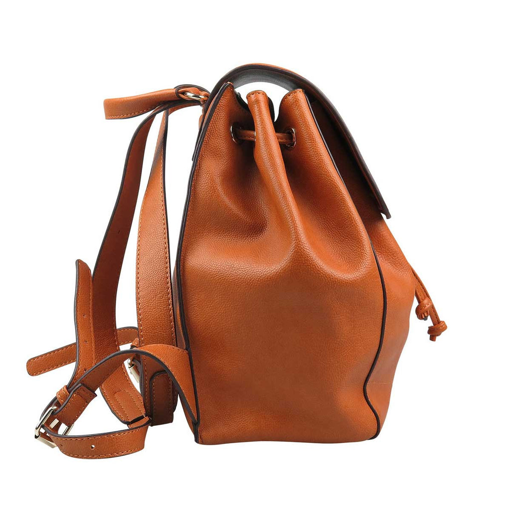 pratten womens tan backpack