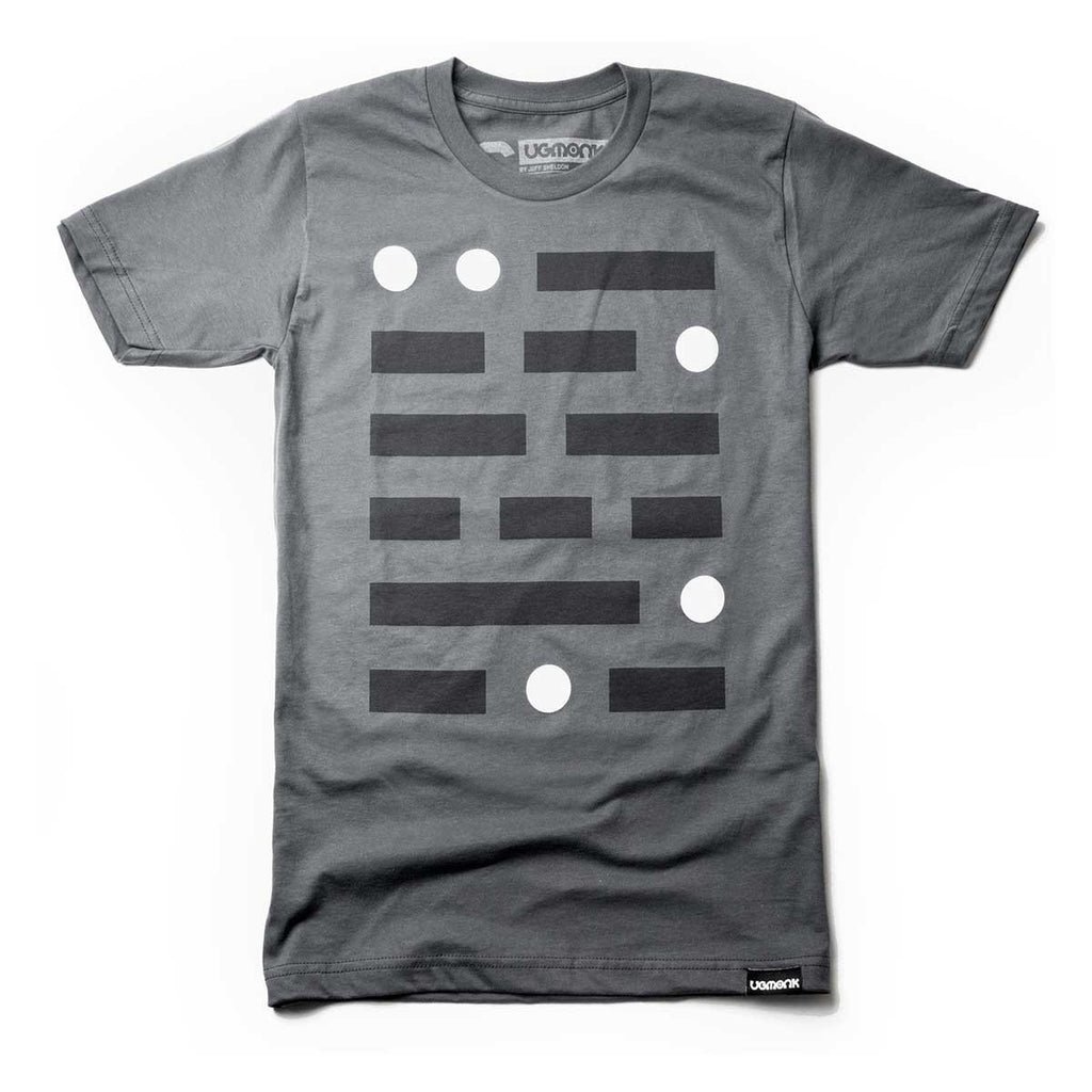 ugmonk mens dark grey graphic tee