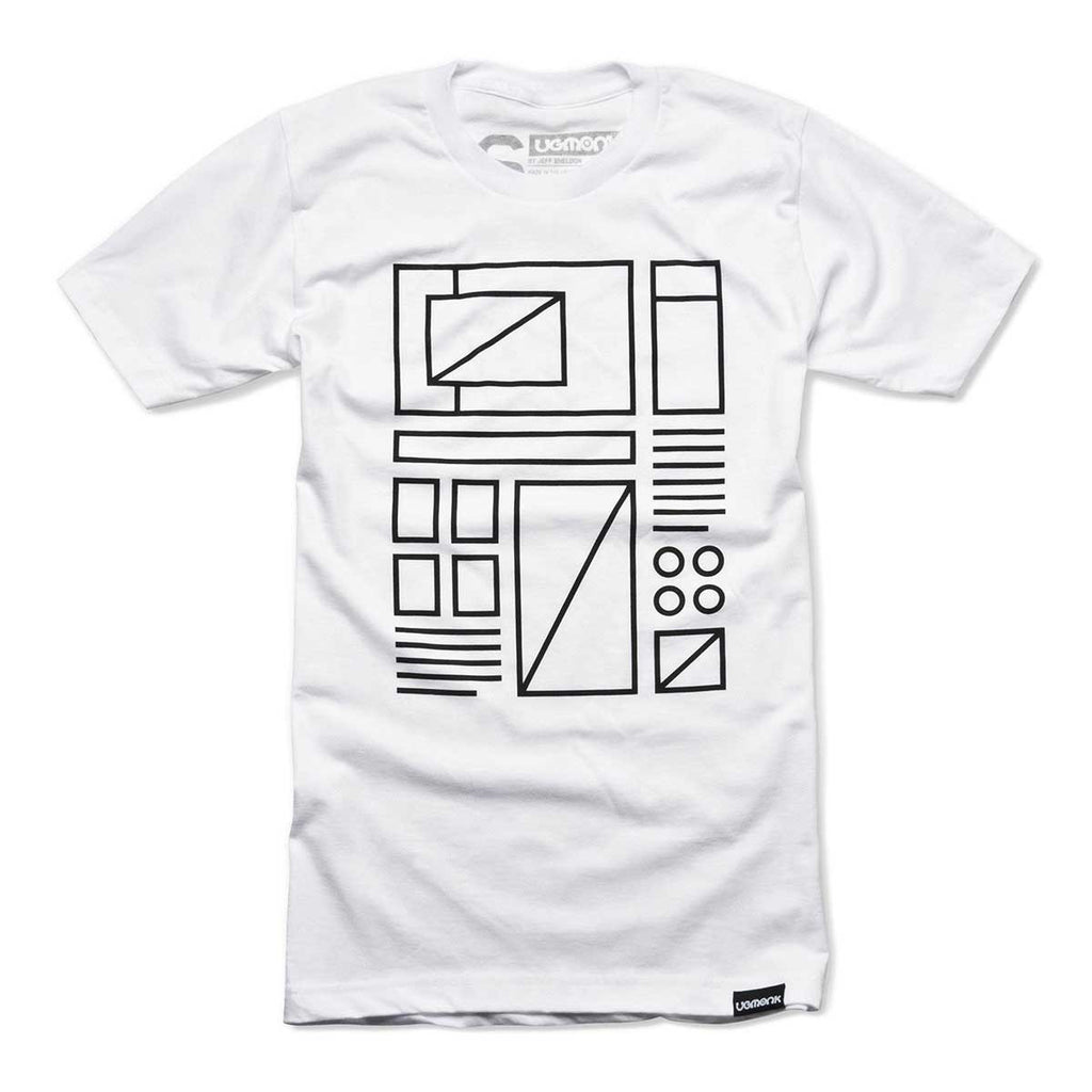 ugmonk mens white graphic tee