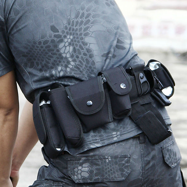 11Pcs Tactical Modular Utility Belt