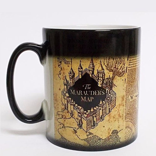 Marauders Map Heat Morphing Mugs
