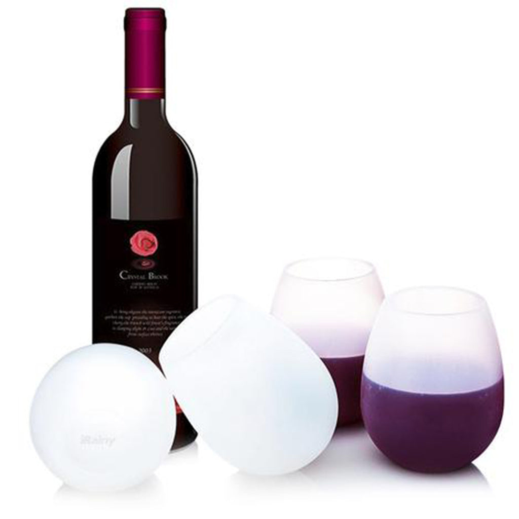 PREMIUM SILICONE WINE GLASSES