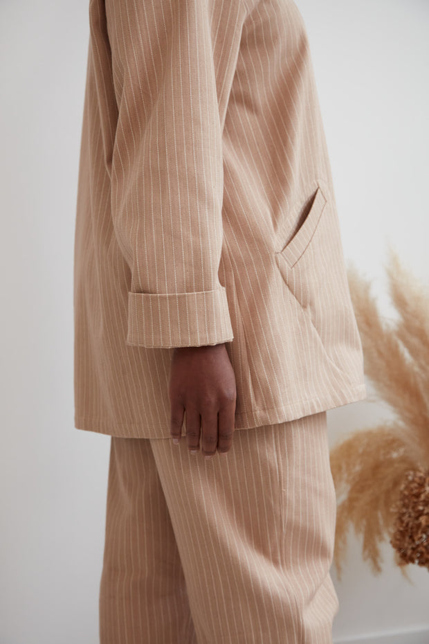 René Jacket, Chai Stripe