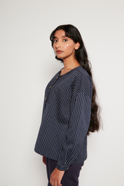 French Smock, Pin-Stripe