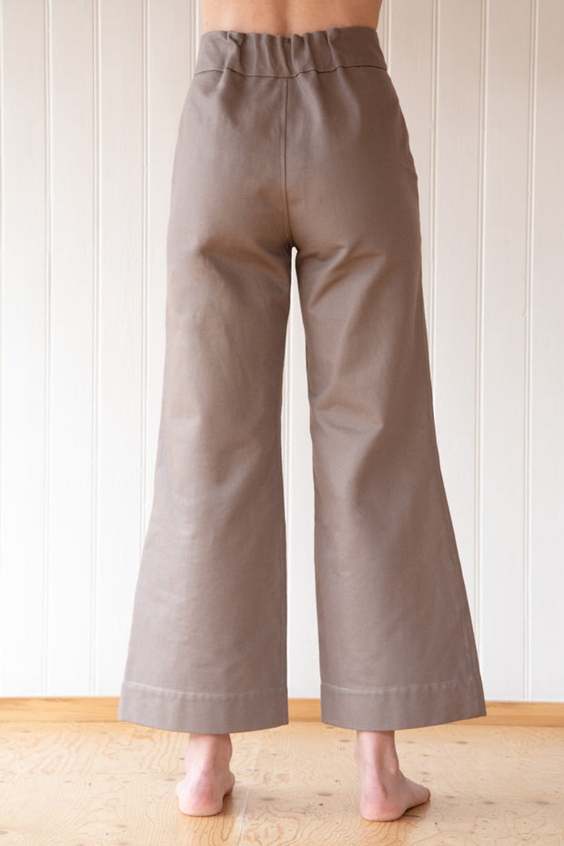 Fitted Pants, Olive