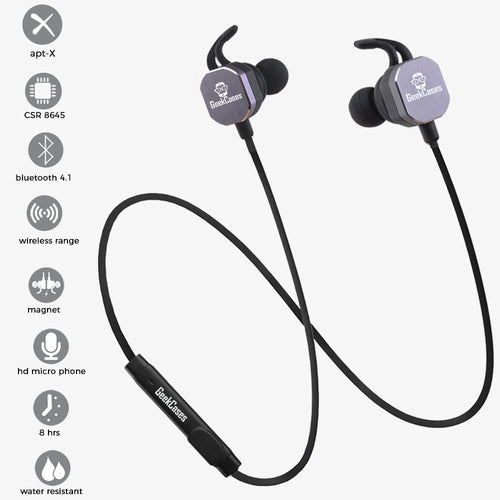 GeekCases BeXitar BT707 BlueTooth Ear Phone  - Black - GeekCases
