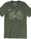 Original Ride Indiana (IN) -White Print-