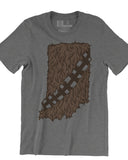 Hoosier Wookie (IN) -Brown Print-