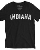 Vintage Indiana (IN) -White Print-