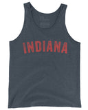 Vintage Indiana (IN) -Red Print-