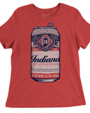 Beer Can (IN) -White / Navy Print-
