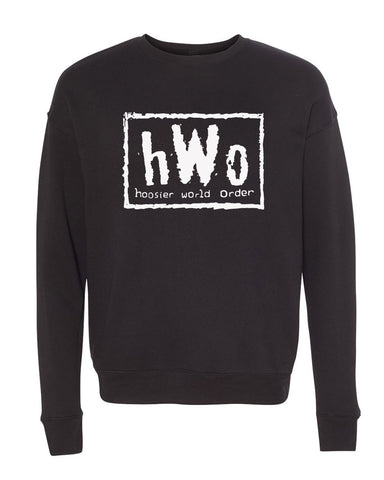 Hoosier World Order (IN) Unisex Crewneck Sweatshirt