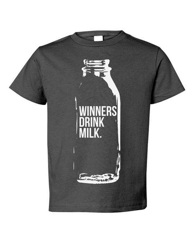 Kids Winners Drink Milk (IN) Toddler Tee
