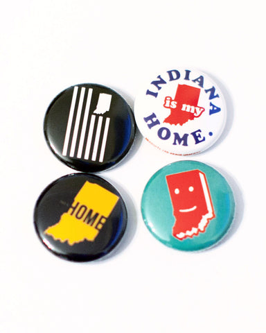 Assorted One-Inch Buttons (24 Pk.)
