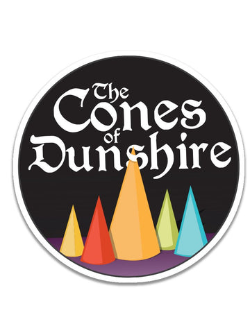 Cones of Dunshire Stickers (24pk)