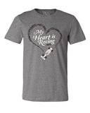 My Heart Is Racing (IN) Unisex Tee
