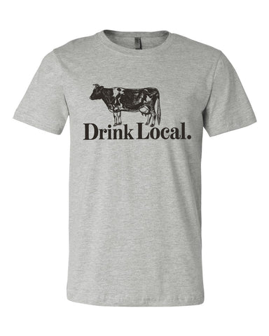 Drink Local Dairy (IN) -Black Print-