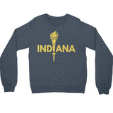 Enlightened Indiana (IN) -Gold Print-