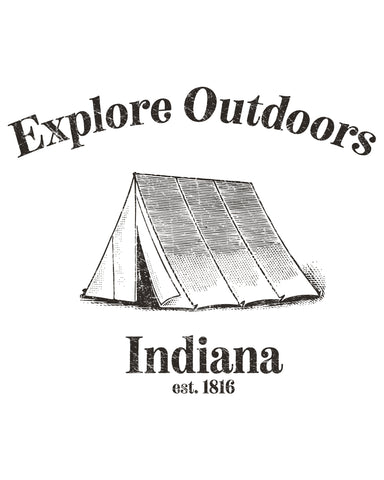 Explore Outdoors (IN) -Black Print-
