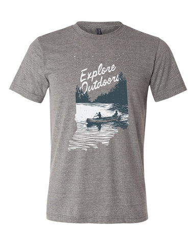 Explore Outdoors -Multi Print-