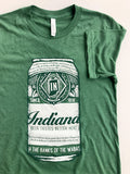 Green Beer Can -Multi Print-